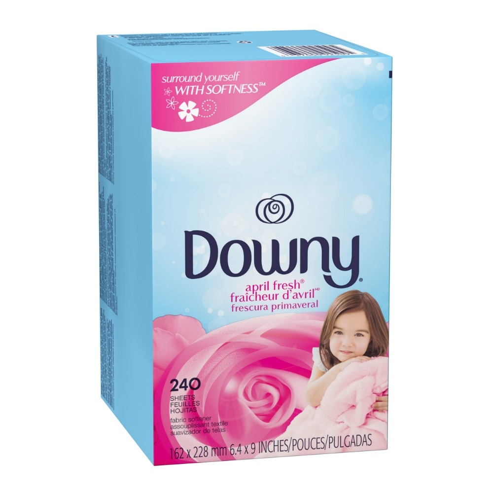 다우니 시트 건조기용 섬유유연제 240매. Downy Fabric Softener Dryer Sheets, April Fresh, 240 countDowny